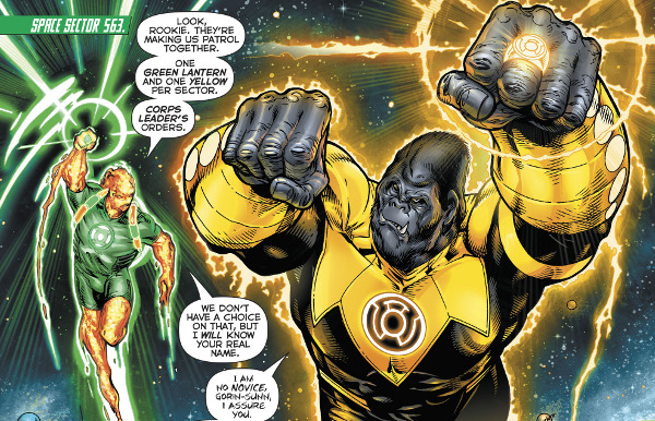 Hal Jordan and the Green Lantern Corps #18 comic review