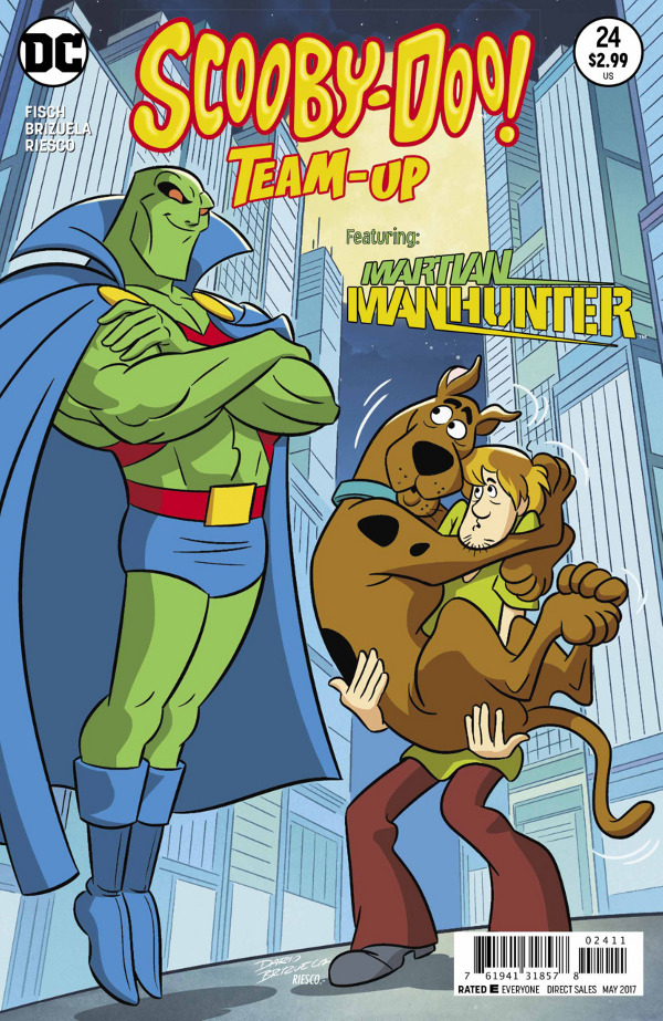 Scooby-Doo! Team-Up #24 comic review
