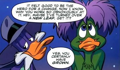 Darkwing Duck #8 comic review
