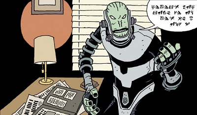 The Visitor: How and Why He Stayed #2 comic review