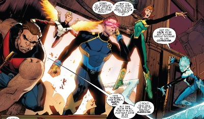 X-Men: Blue #1 comic review