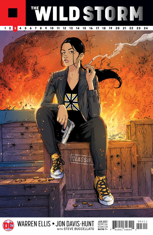 The Wild Storm #3 comic review