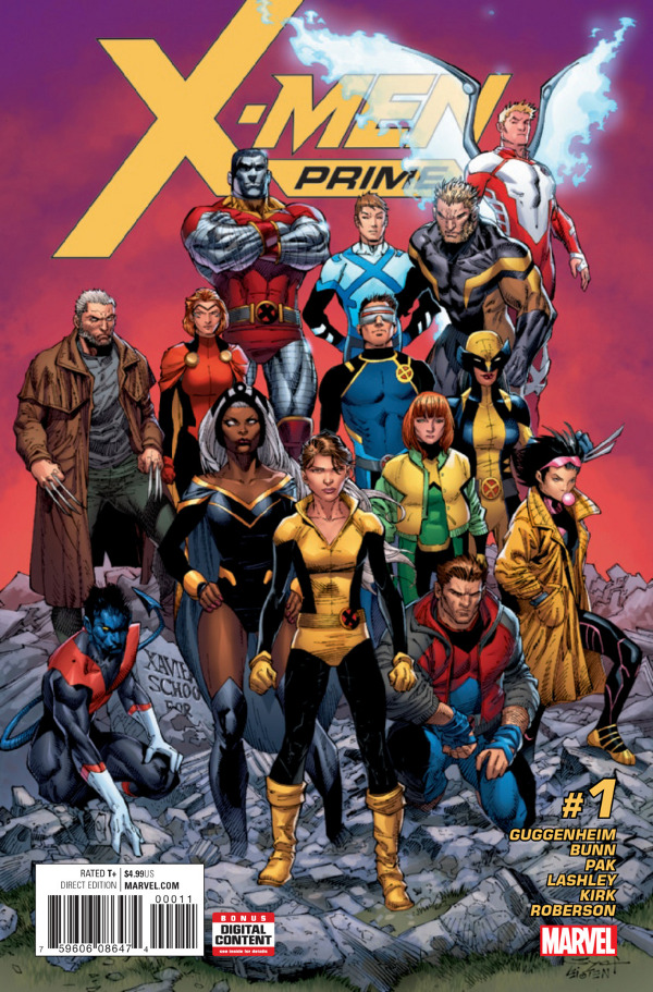 X-Men: Prime #1 comic review