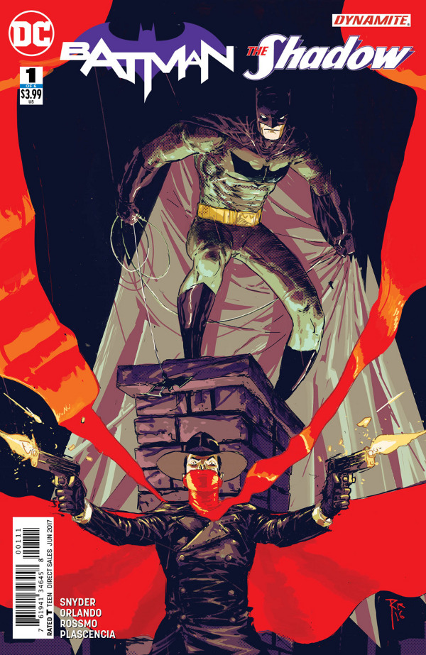 Batman/The Shadow #1 comic review