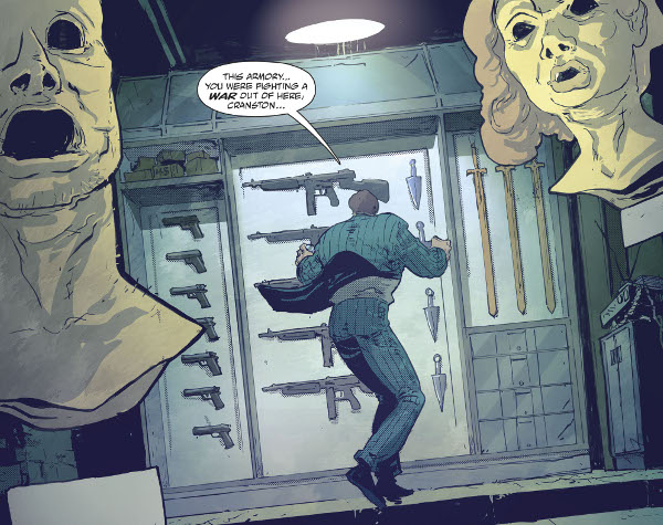 Batman/The Shadow #1 comic review