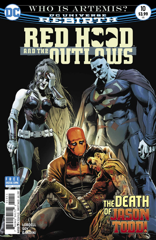 Red Hood and the Outlaws #10 comic review