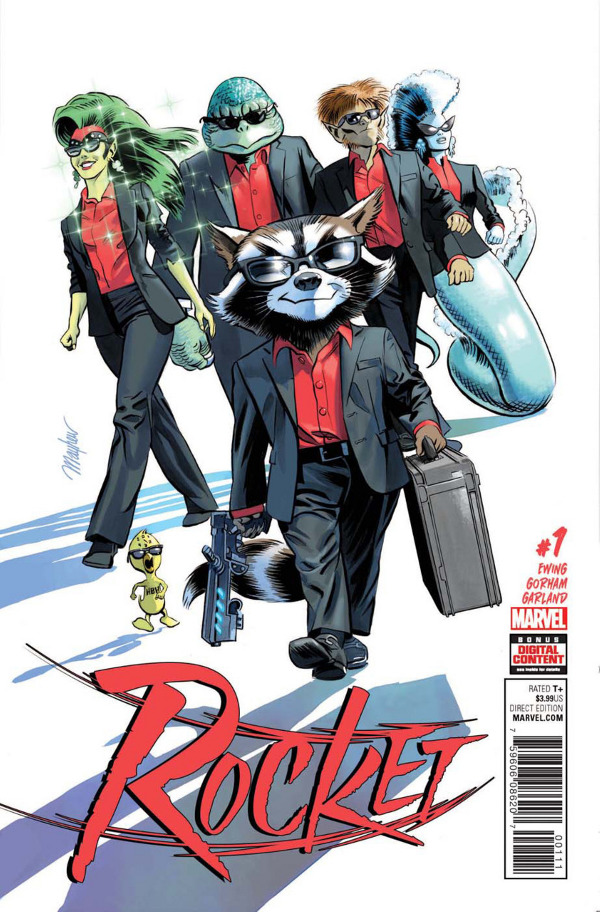 Rocket #1 comic review