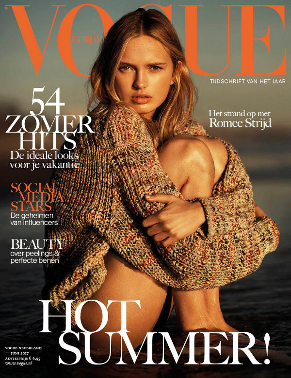 Romee Strijd - Vogue Netherlands (June 2017)