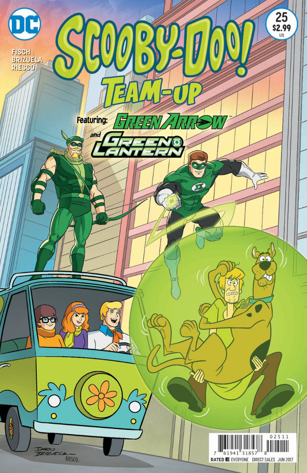 Scooby-Doo! Team-Up #25 comic review
