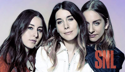 Haim – Want You Back (SNL) music video