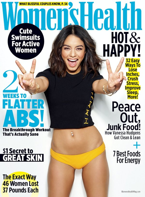 Vanessa Hudgens - Women's Health (May 2017)