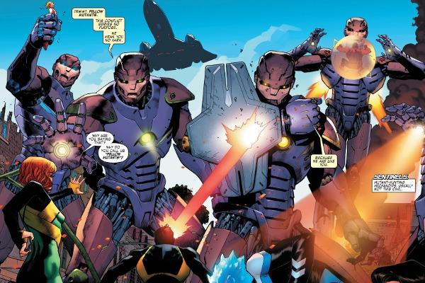 X-Men: Blue #3 comic review