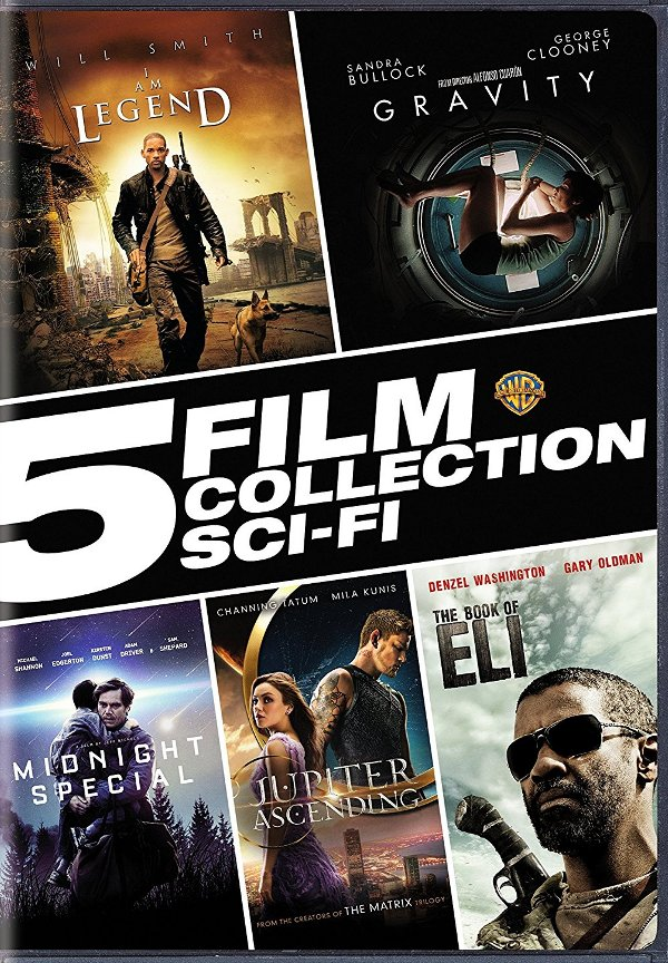 5 Film Collection: Sci-Fi DVD review