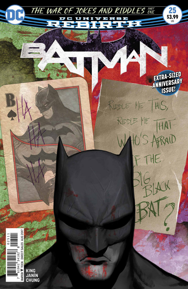 Batman #25 comic review