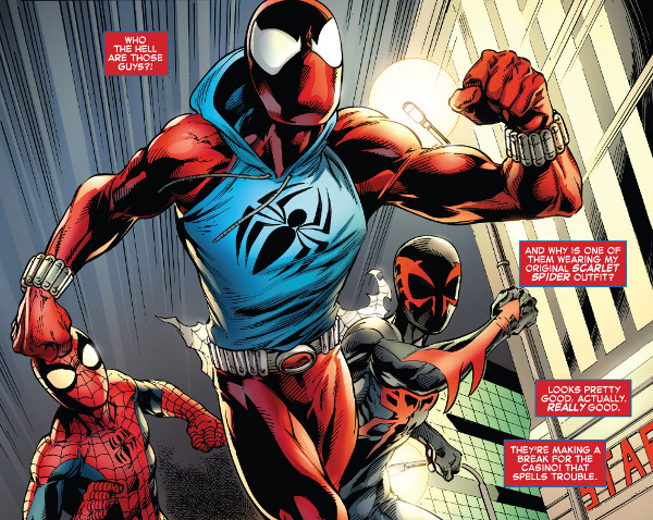 Ben Reilly: Scarlet Spider #3 comic review