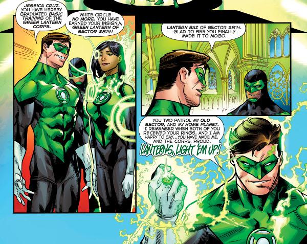 Green Lanterns #24 comic review