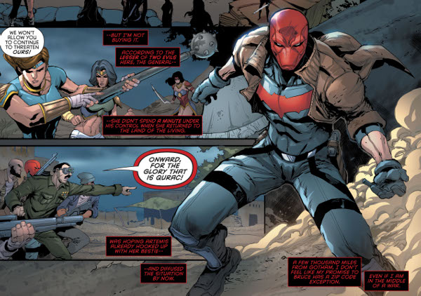 Red Hood and the Outlaws #11 comic review