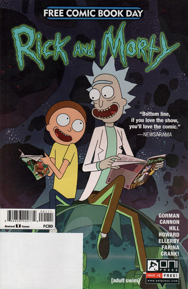 Rick and Morty (Free Comic Book Day 2017) comic review