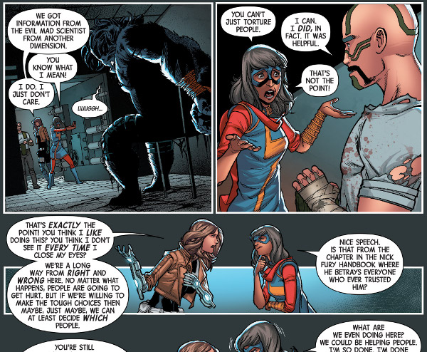 Secret Warriors #3 comic review