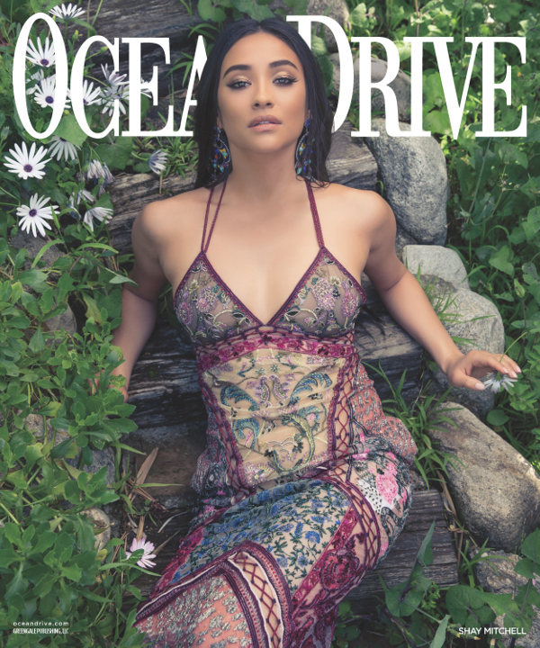 Shay Mitchell - Ocean Drive (May/June 2016)
