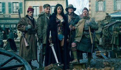 Reel Hooligans versus Wonder Woman