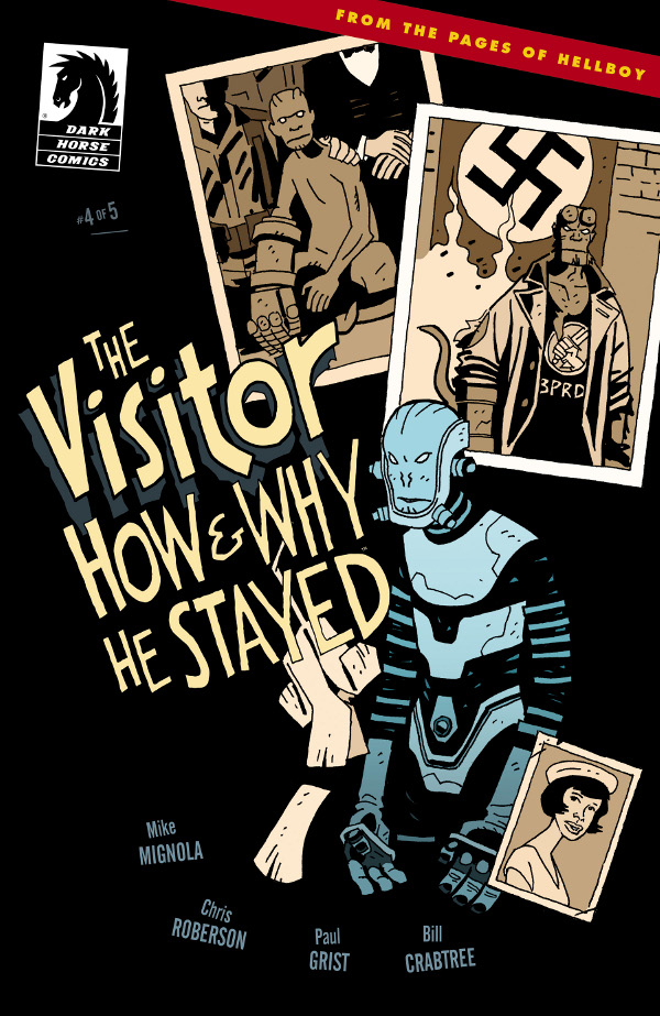 The Visitor: How and Why He Stayed #4 comic review
