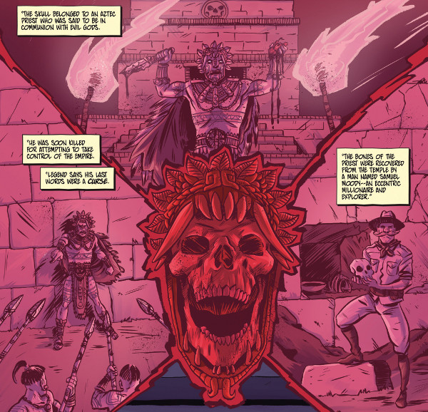 Blood Brothers #1 comic review