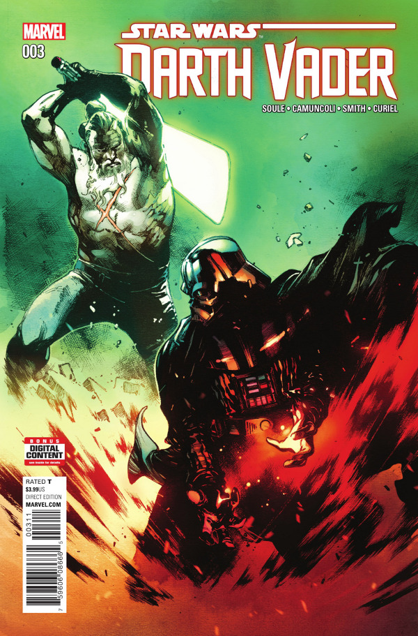 Darth Vader #3 #comic review