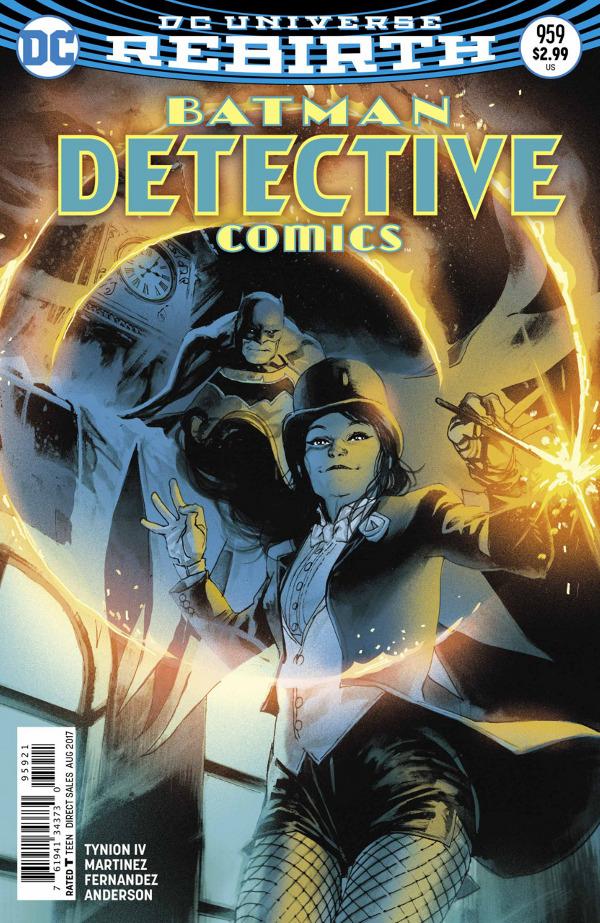 Detective Comics #959 comic review