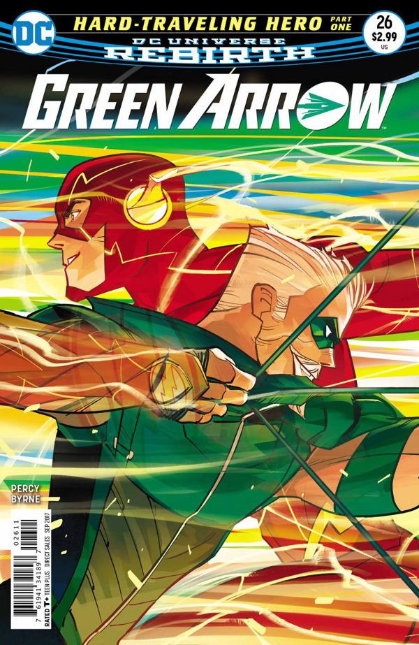 Green Arrow #26 comic review
