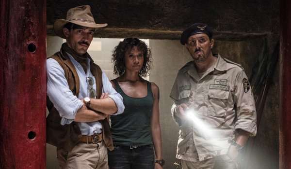 Hooten & the Lady - Egypt television review