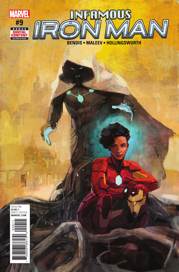 Infamous Iron Man #9 comic review
