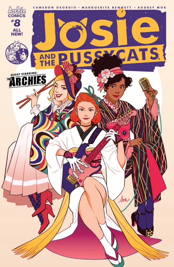 Josie and the Pussycats #8 comic review