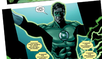 Hal Jordan and the Green Lantern Corps #23 comic review