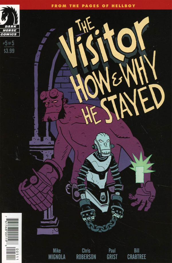 The Visitor: How and Why He Stayed #5 comic review
