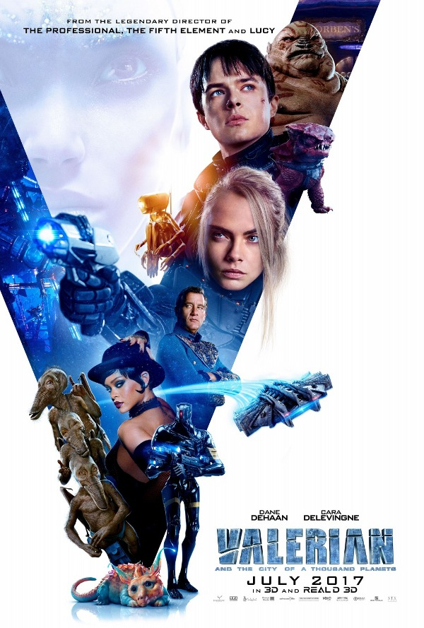Valerian and the City of a Thousand Planets movie reviews