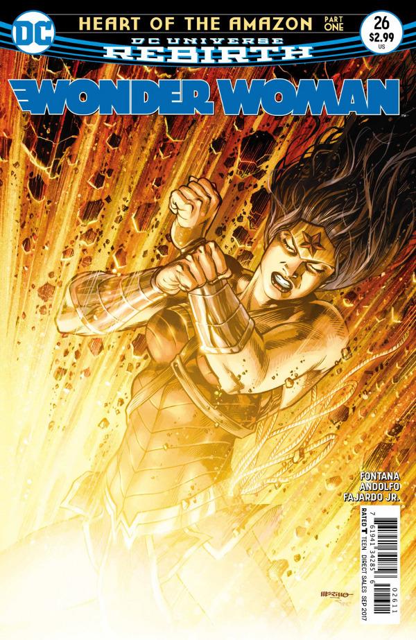 Wonder Woman #26 comic review
