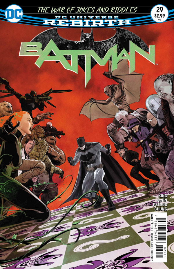 Batman #29 comic review
