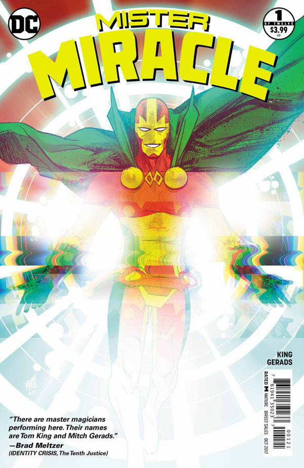 Mister Miracle #1 comic review