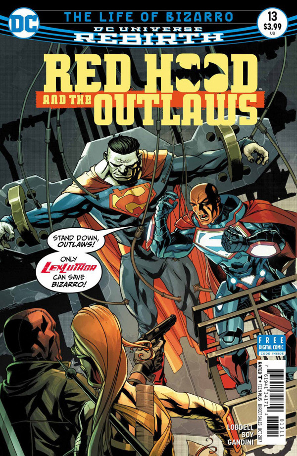 Red Hood and the Outlaws #13 comic review
