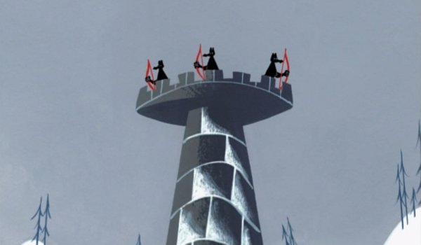 Samurai Jack - Episode VII: Jack and the Three Blind Archers TV review