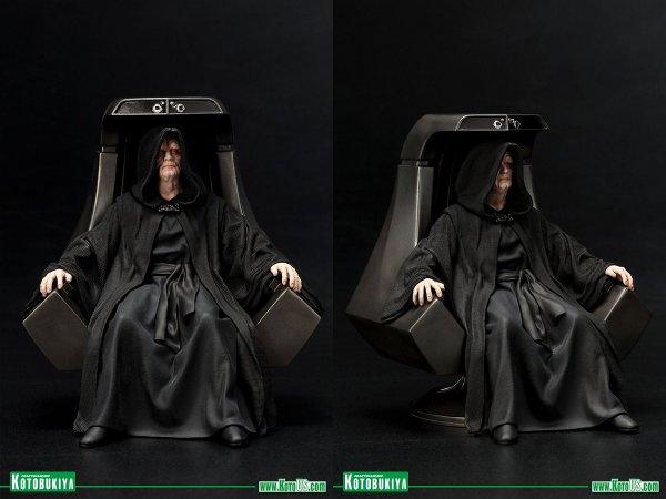 Star Wars Emperor Palpatine ARTFX+ Figure