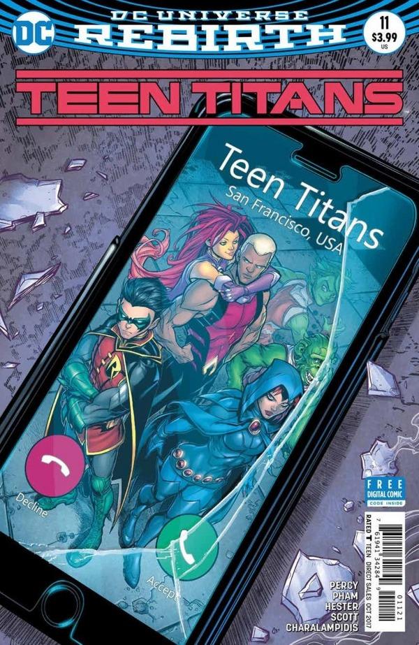 Teen Titans #11 comic review