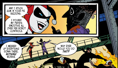 Harley Quinn and Batman #1 comic review