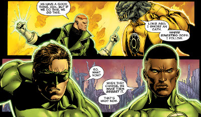 Hal Jordan and the Green Lantern Corps #25 comic review
