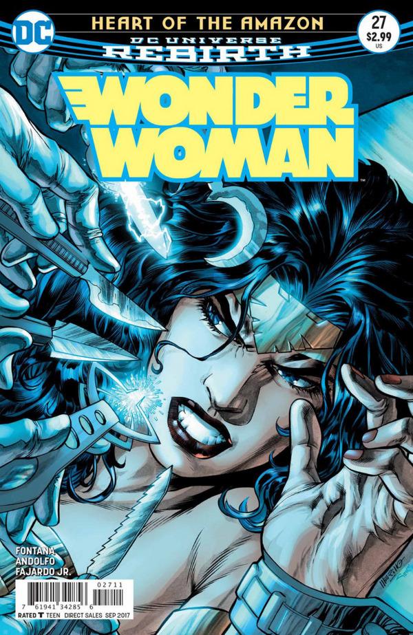Wonder Woman #27 comic review