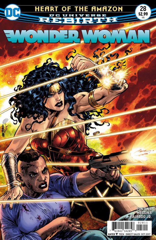 Wonder Woman #28 comic review