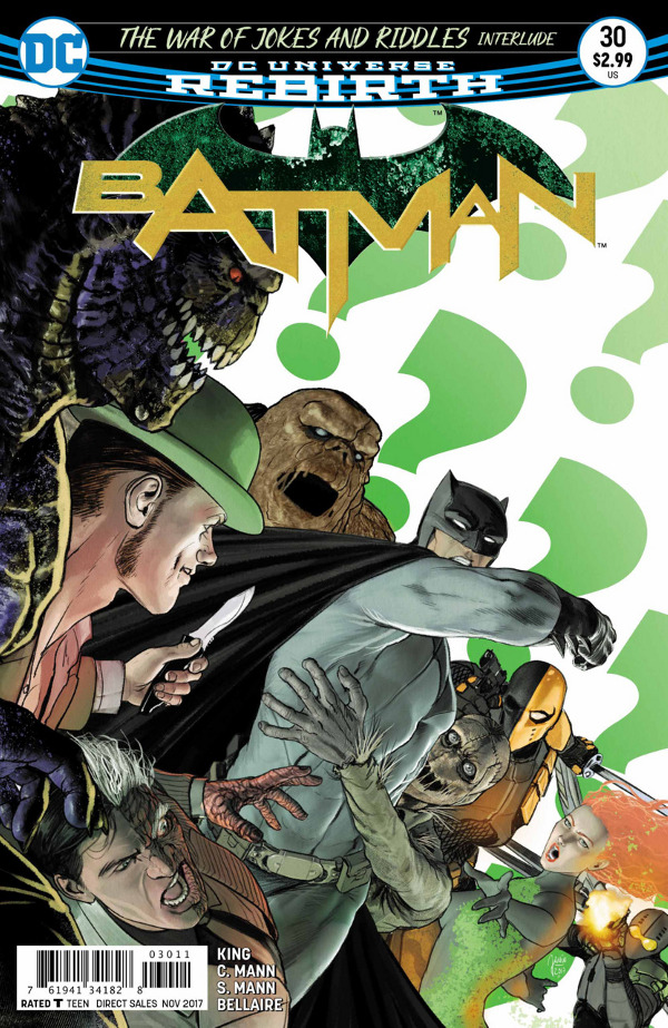 Batman #30 comic review
