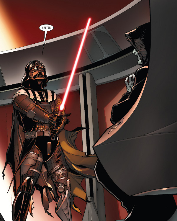 Darth Vader #5 comic review