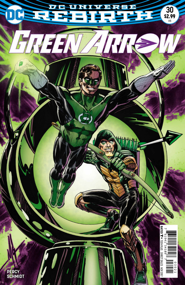 Green Arrow #30 comic review
